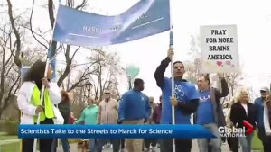 Scientists take to the streets to March for Science